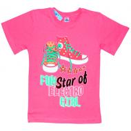 """91302-21 """"КЕДЫ"""" футболка для девочек 9-13 лет"""
