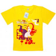 """15-9130203 """"Glamoreze"""" футболка для девочек, 9-13 лет, жёлтый"""