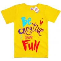 """91302-5 """"CREATIVE"""" футболка для девочек 9-13 лет"""