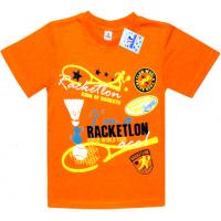 """91301-30 """"Racketlon"""" футболка для мальчиков 9-13 лет, пурпурный"""
