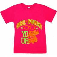 """91302-6 """"STYLE"""" футболка для девочек 9-13 лет, розовый"""