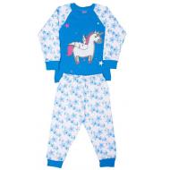 11-148201-3 Пижама для девочки, 1-4 года, бирюза
