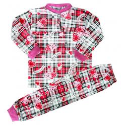 """44-1529 """"Фантазия"""" пижама для девочки, двухнитка с начёсом, 1-5 лет"""