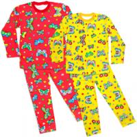 44-6982574-1 Пижама для девочек 6-10 лет, двухнитка