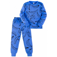 11-3781016 Пижама, 3-7 лет, интерлок, синий