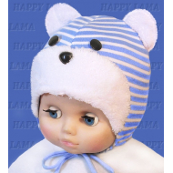 """Happy Lama"" шапка для мальчика  ""Teddy"", селаник"