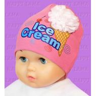 """Happy Lama"" шапка  ""Ace Cream"" 2-х слойная."
