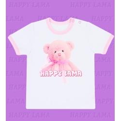 """Мишка с бантом"" футболка"