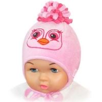 """""""Happy Lama"""" шапка для девочек """"Пташка"""""""