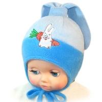 """Happy Lama"" шапка для мальчика ""Зайчик"""