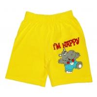 """5841-1 """"I'm Happy"""" шорты для мальчиков, 5-8 лет"""