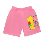 """5842-4 """"My Bear"""" шорты для девочек, 5-8 лет, розовые"""