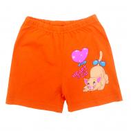 """1442-3 """"Heart of Cat"""" шорты для девочек, 1-4 года"""
