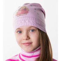 SKG344 Шапка вязаная для девочек весенняя