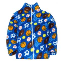"11-151104 ""Basketball"" Толстовка на молнии, флис 1-5 лет"