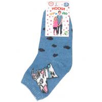 """L-0142 """"Dog"""" Носки детские, голубой"""