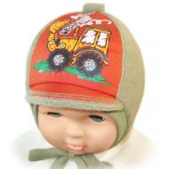 """Ф-Я 520 """"Happy Lama"""" шапка для мальчиков """"Трактор"""""""