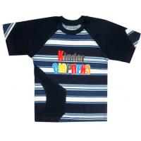 "04-0208 ""Сюрприз"" футболка со вставками, 110-128"