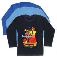 "04-0230 ""Flip"" Кофта для мальчика, интерлок, 110-128"
