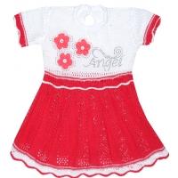 """ANGEL"" Платье вязаное,  80-86"