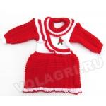 Платье вязаное «Радость», 74