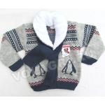 ET-1076 Джемпер с шарфом для мальчиков