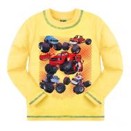 """10-141101 """"BLAZE"""" Джемпер для мальчика, 1-4 года, светло-желтый"""