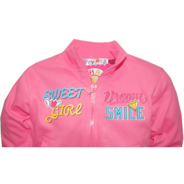 "10-378201 ""SWEET GIRL"" Костюм для мальчика, 1-4 года, розовый\вишня"