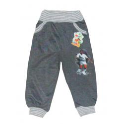 "10-149103 ""ФУТБОЛИСТ"" Штаны для мальчика, 1-4 года, серый"