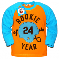 "10-371101 ""ROOKIE 24 YEAR"" Джемпер для мальчика, 2-х нитка, 3-7 лет"