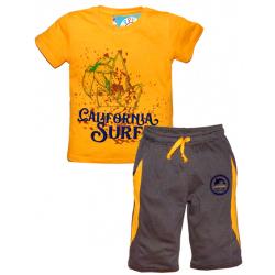 """10-582169 """"CALIFORNIA SURF"""" Комплект с бриджами, 5-8 лет, оранжевый"""