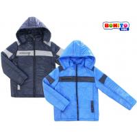20-030  Комбинированная куртка для мальчика, 134-152