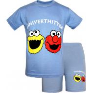 47-582102 Комплект для мальчика, 5-8 лет, серо-голубой