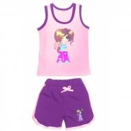 "11-142204 ""SWEET GIRL"" комплект майка-шорты, 1-4 года"