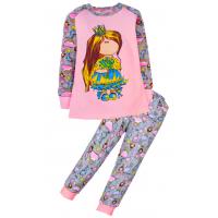 11-148232 Пижама для девочки, 1-4 года, розовый