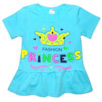 "11-25141 ""Princess"" Туника, 2-5 лет, бирюза"