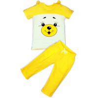 """11-253203 """"МОРДАШКИ"""" комплект с бриджами, 2-5 лет, желтый"""
