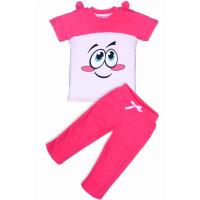 """11-253205 """"МОРДАШКИ"""" комплект с бриджами, 2-5 лет, розовый"""