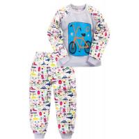 """11-258119 """"Велосипед"""" Пижама для мальчика, 2-5 лет"""