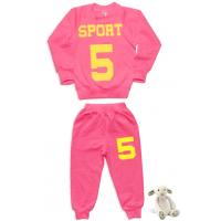 """11-258262 """"SPORT"""" Костюм для девочки, 2-5 лет, розовый"""