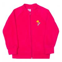 11-371275  Толстовка на молнии, флис, розовый