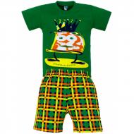 11-372102 Комплект для мальчика, 3-7 лет, зеленый