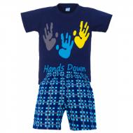 11-372104 Комплект для мальчика, 3-7 лет, синий