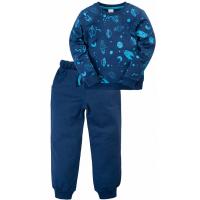"11-378121 ""Space"" Костюм для мальчика, 3-7 лет, синий"
