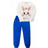 """11-378222 """"Bunny"""" Костюм для девочки, 3-7 лет, бежевый"""