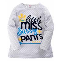 "11-37833 ""Favorite pajamas"" Сорочка для девочки, 3-7 лет, серый"