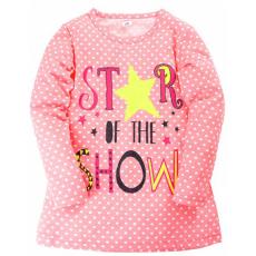"""11-37835 """"Star"""" Сорочка для девочки, 3-7 лет, коралл"""