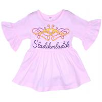 11-69131 Блузка, 6-9 лет, розовый