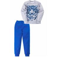 "11-698121 ""Strong tiger"" Пижама, интерлок, 6-9 лет"