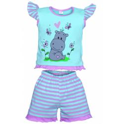 "11-142214 ""Hippo"" комплект для девочек, 1-4 года"